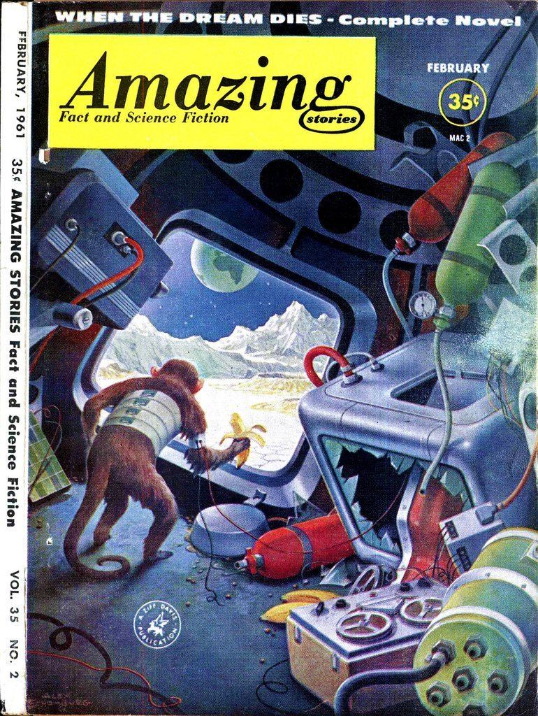 Amazing Vintage Sci-Fi Magazine and Book Cover Art | Pulp