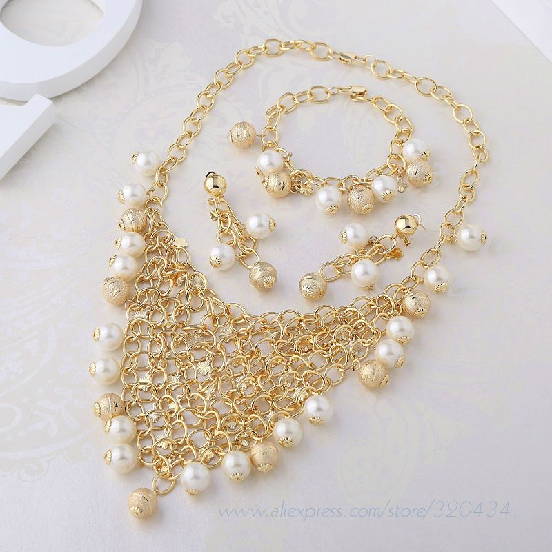 Find More Jewelry Sets Information about Latest Beautiful Gold