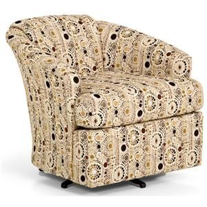 Barrel Chairs Swivel Rocker Marine Captains Chair Made In The Usa By Klaussner Customize This With 100 Different Fabrics