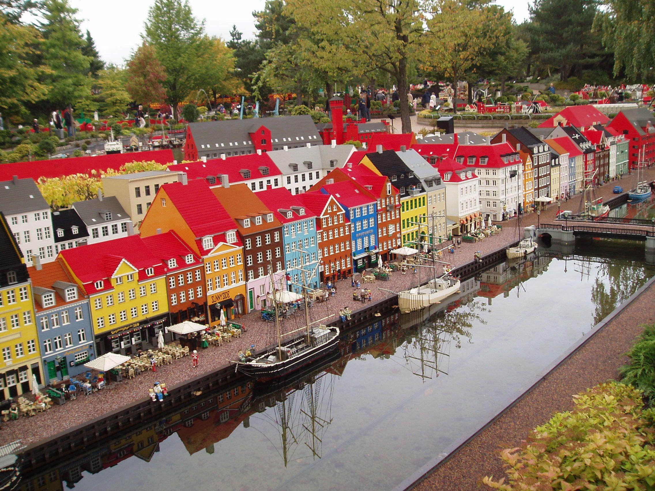 Lego Nyhavn Legoland Billund Denmark Cool Places To Visit Places To Visit Legoland