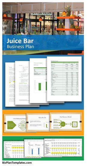 Juice Bar Business Plan If You Have Wanted To Start A Juice Bar