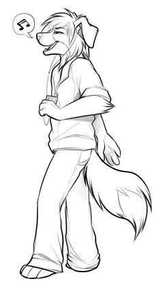 hye can some one do my fursona doing this i will try to post my ...
