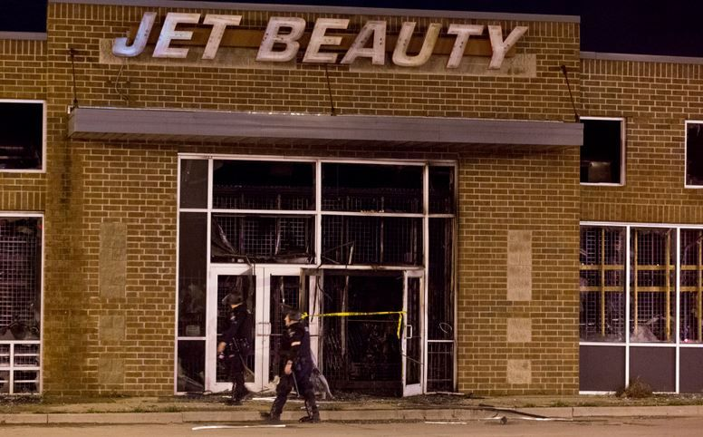 As always, beauty supply stores are hit hardest when social justice comes to town.