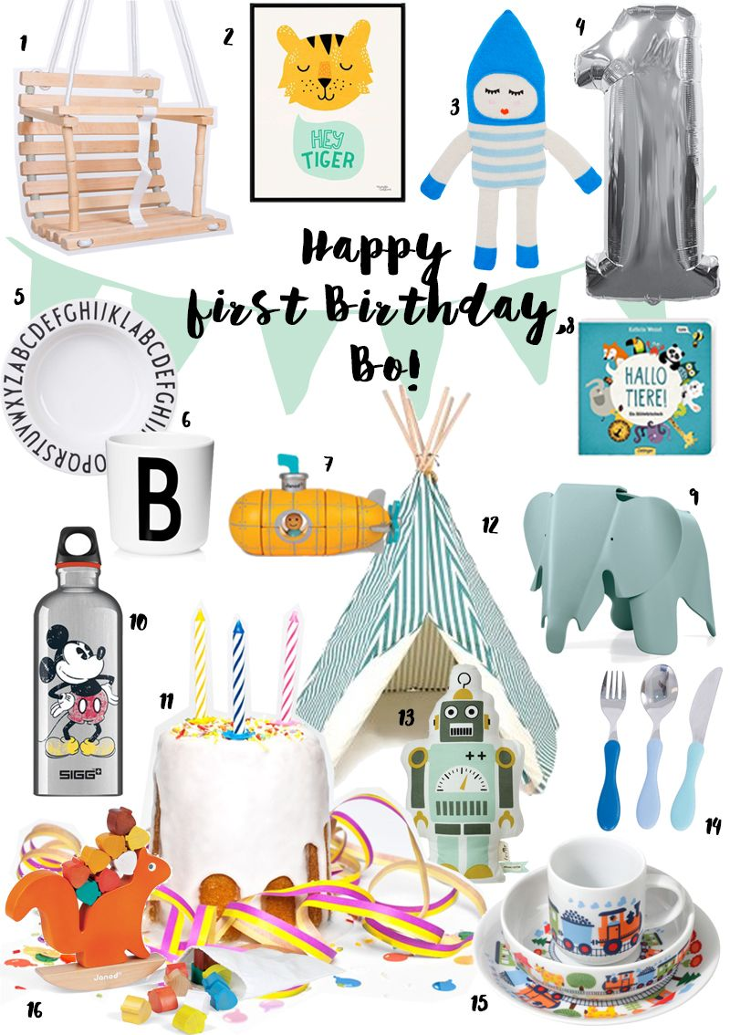 Geschenkideen Zum Ersten Geburtstag Geschenke Zum Geburtstag