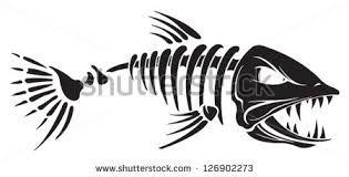 Image Result For Fish Skeleton Images Fish Bone Tattoo Fish Skeleton Fish Silhouette