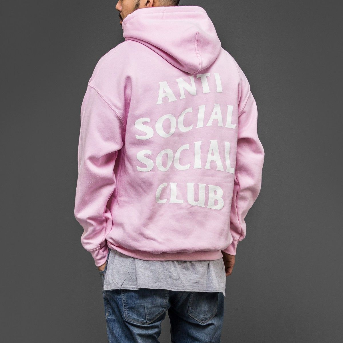85c757f4243f Anti Social Social Club Pink hoodie women s size small❤
