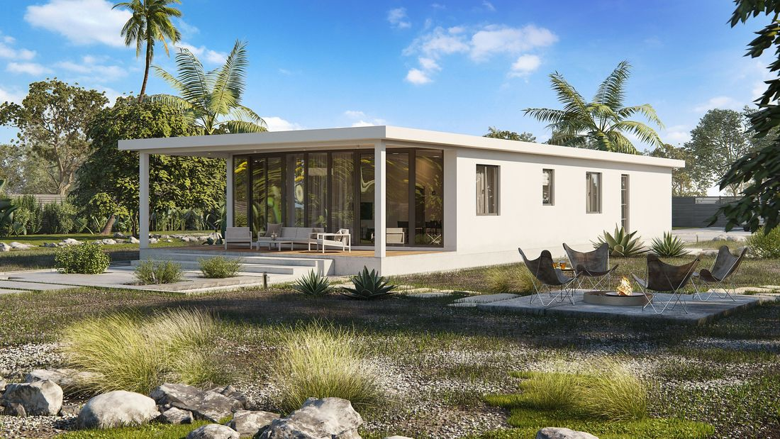 Affordable Hurricane Proof Houses Katana House Modern Architecture House Building A House Eco House