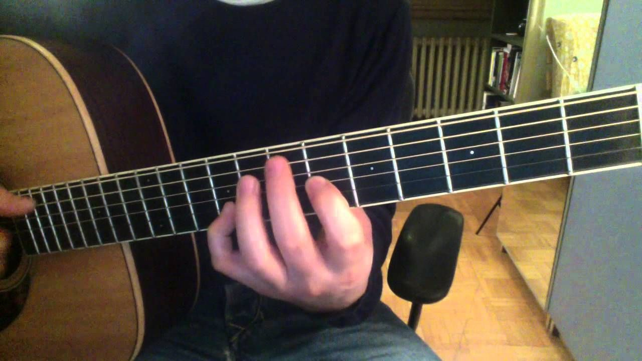 How to play shape of my heart ❤ sting / guitar tutorial.