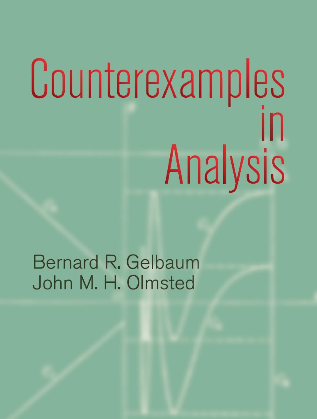 Counterexamples Inysis Ebook