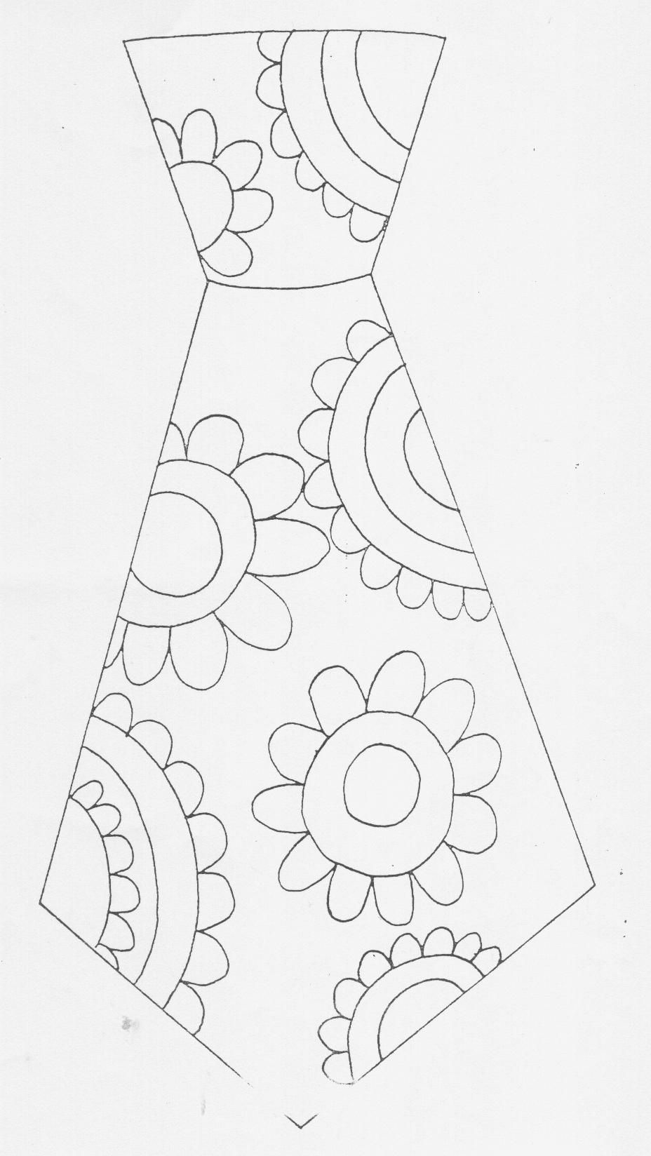Das met bloemen (kleurplaat).jpg (928×1648)   Kleuters Vaderdag ...