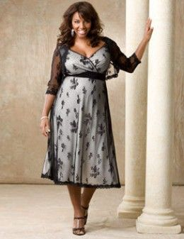 Vestidos de fiesta para mujeres mayores gordas