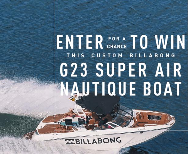 Billabong Nautique Giveaway Win One Super Air Nautique