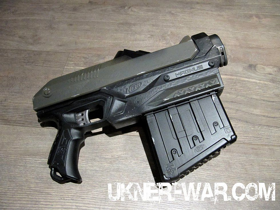 leave painted nerf gun overnight
