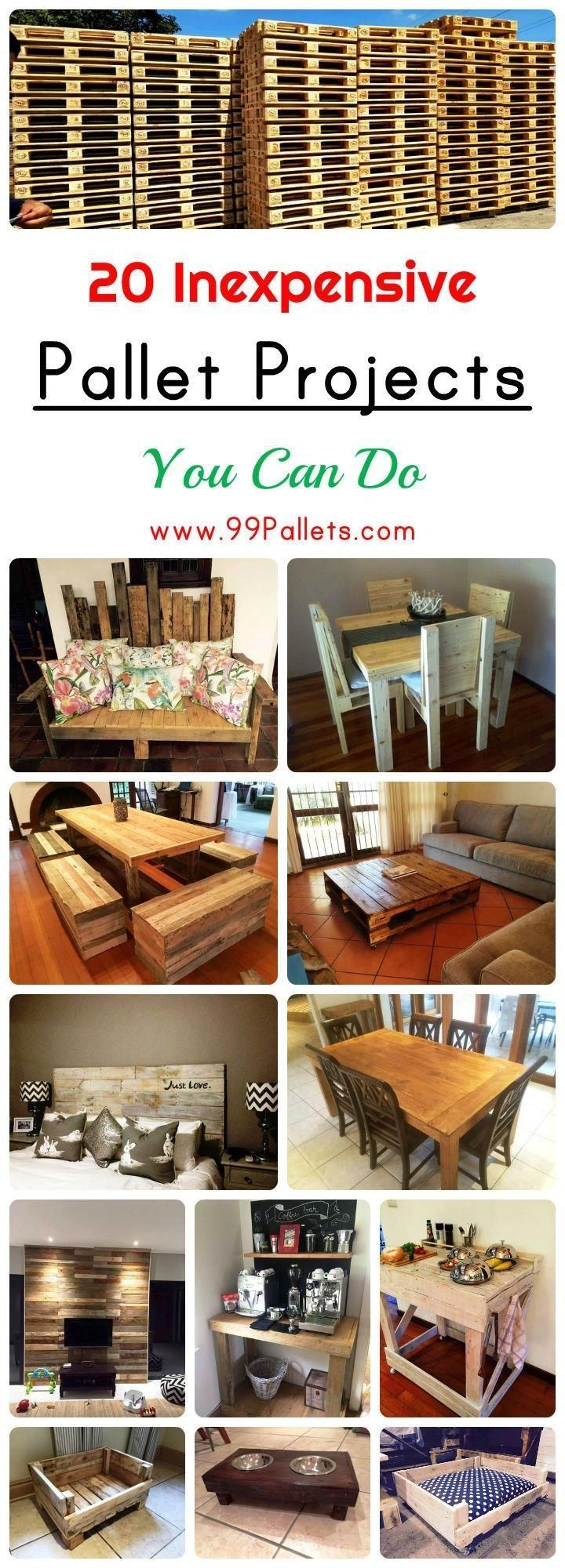 20 Inexpensive Pallet Projects You Can Do Diy Pallet Projects