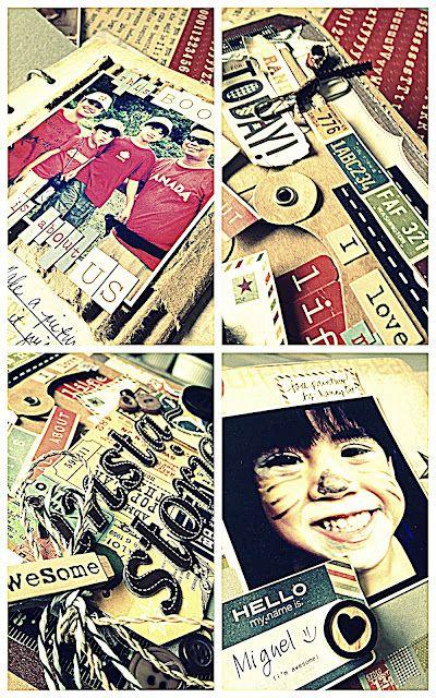 mini album workshop sneaks #simplestories #mayaroad