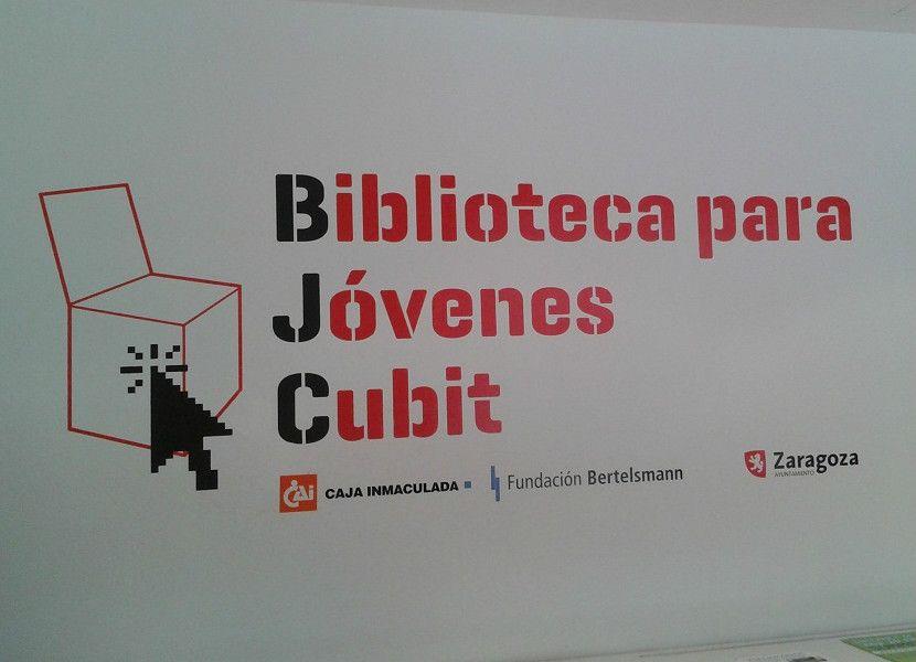 Cubit, la biblioteca para jóvenes de Zaragoza - http://www.actualidadliteratura.com/cubit-la-biblioteca-para-jovenes-de-zaragoza/