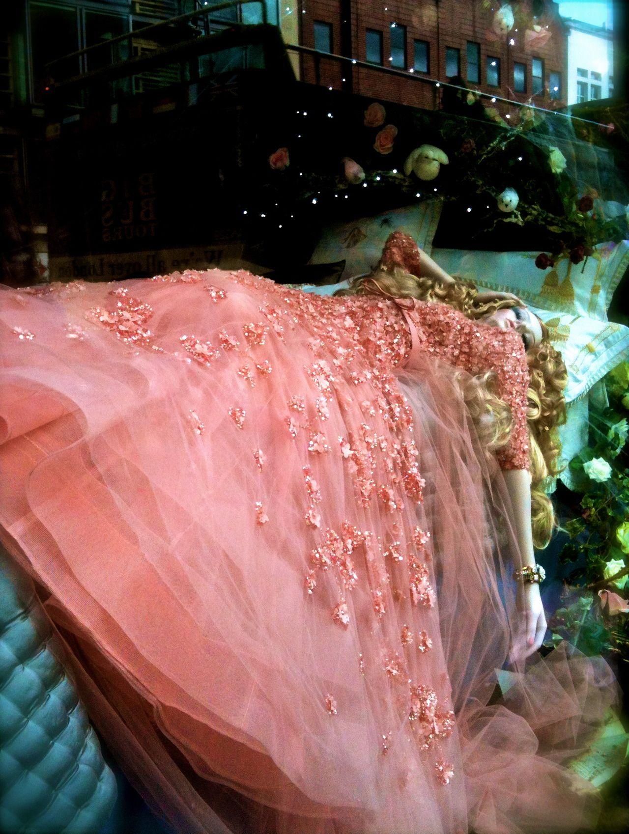 Aurora by Elie Saab, Harrods Disney Princesses Christmas Windows ...