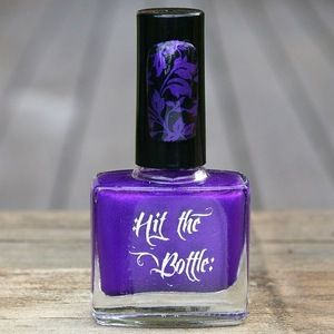 "Hit the Bottle ""Purple Reign"" Stamping Polish"