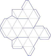 Image Result For D Hexaflexagon Template  Classwork
