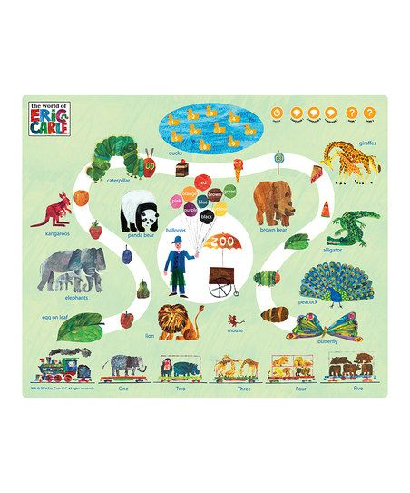 The World of Eric Carle The Very Hungry Caterpillar Learning Mat & Voice Pen | zulily