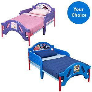 Character Corner Toddler Bed Assortment W Mattress Bundle Your Choice Of Character Walmart Com Toddler Bed Toddler Bed Mattress Walmart Kids Bedding