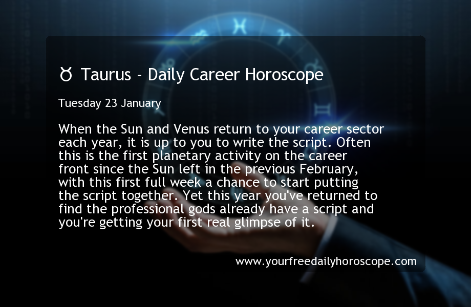 Jan  Your daily horoscope - The Globe and Mail