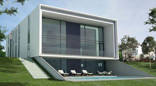 functionalist modern home by braun associates | architecture, Innenarchitektur ideen