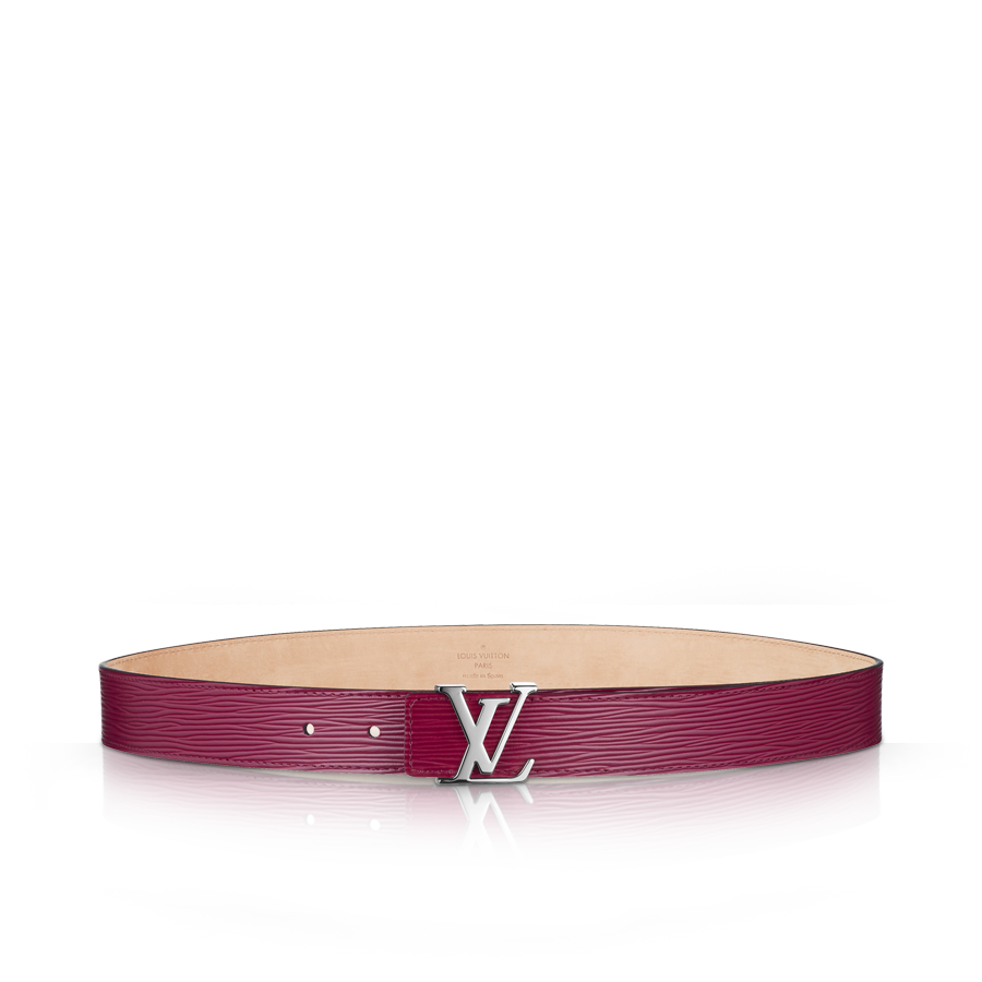 Ceinture LV Initiales Cuir Epi via Louis Vuitton 360,00 euros