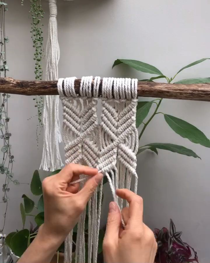 Want to learn macramé and become a confident macrame artist? My 4-week online course has helps lots of women to master macramé and start selling their macramé wall hanging, plant hangers and more online and at local markets. I run this course three times per year. To join the waiting list, click below.