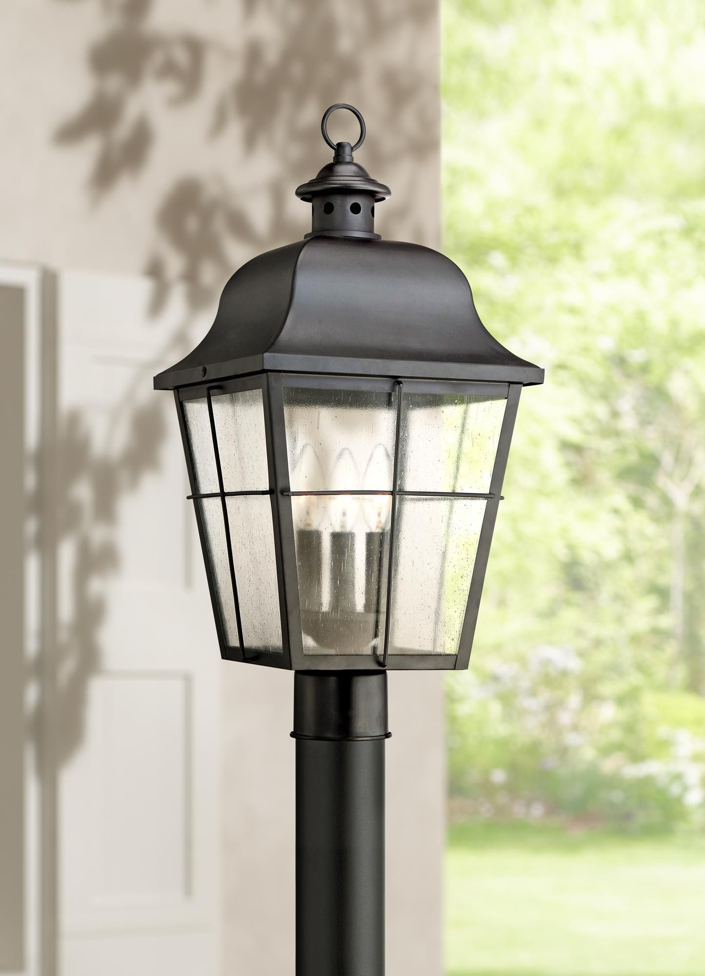 Quoizel Millhouse 21 1 2 High Black Outdoor Post Light 5f669 Lamps Plus Lamp Post Lights Outdoor Post Lights Post Lights