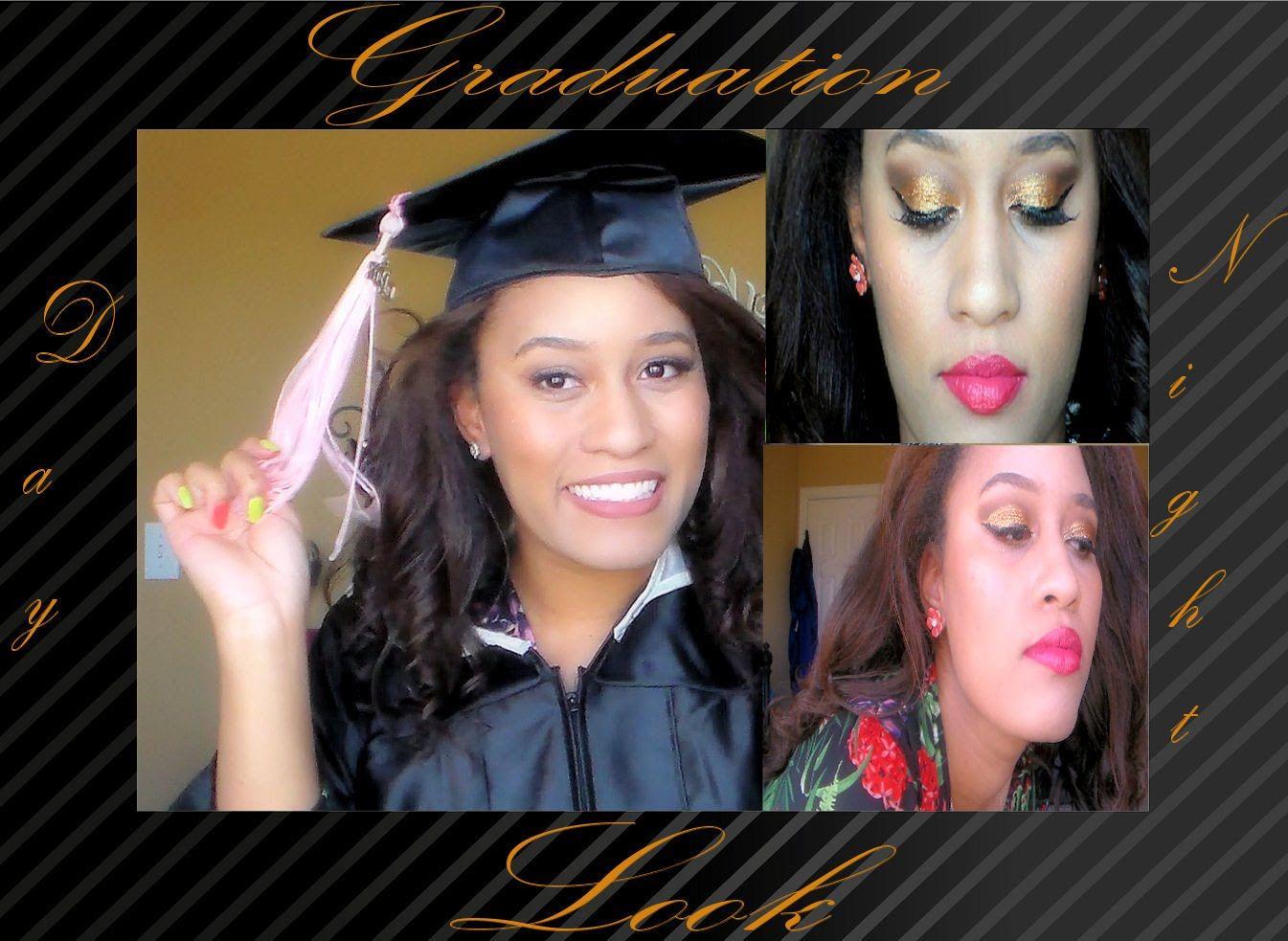 Makeup Monday- Graduation Day/Night Look (LONG VIDEO)