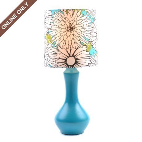 Blue Floral Ceramic Table Lamp at Kirkland's