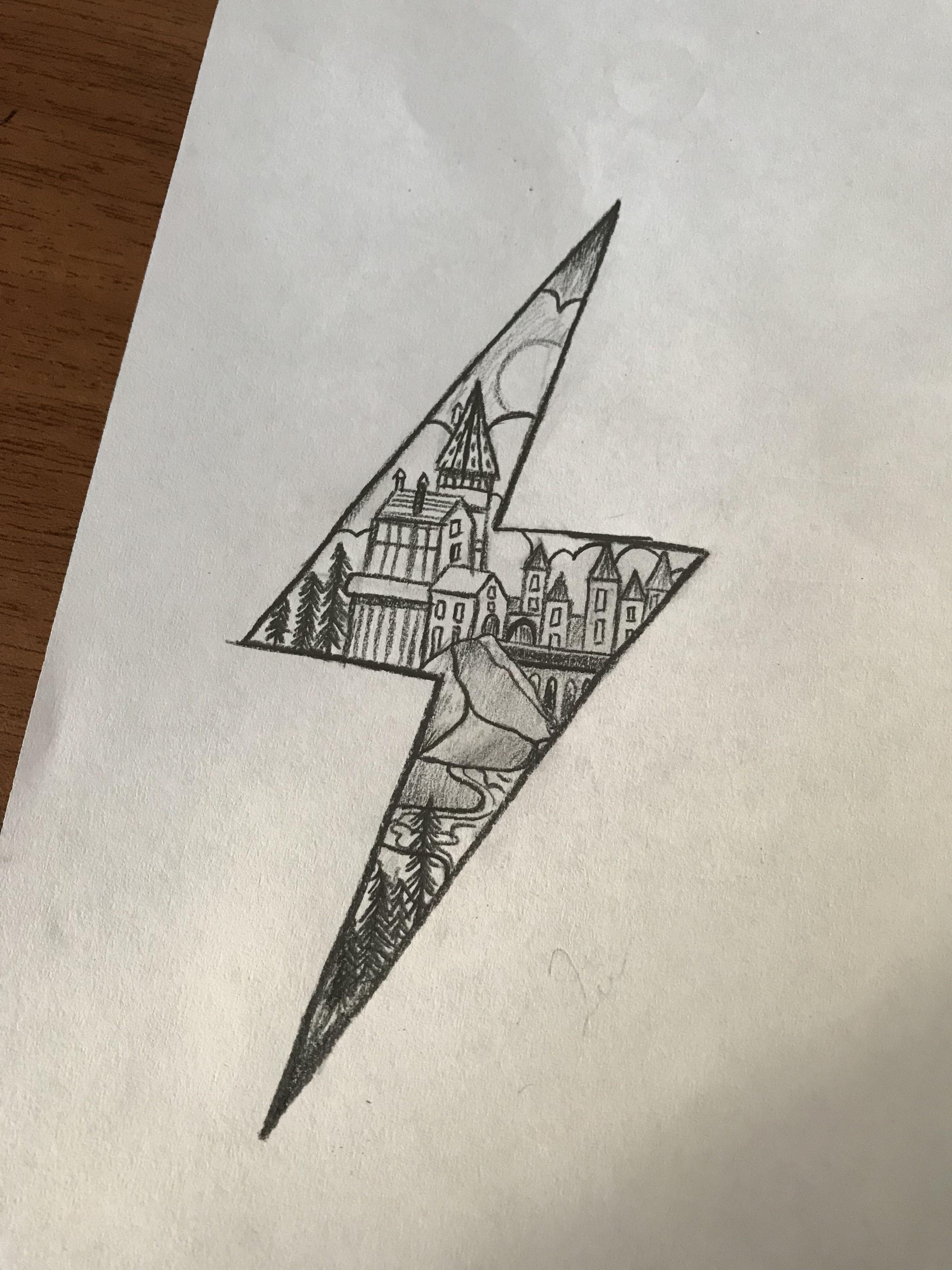 Hogwarts Harrypotter Harrypotterforever çizim Drawing