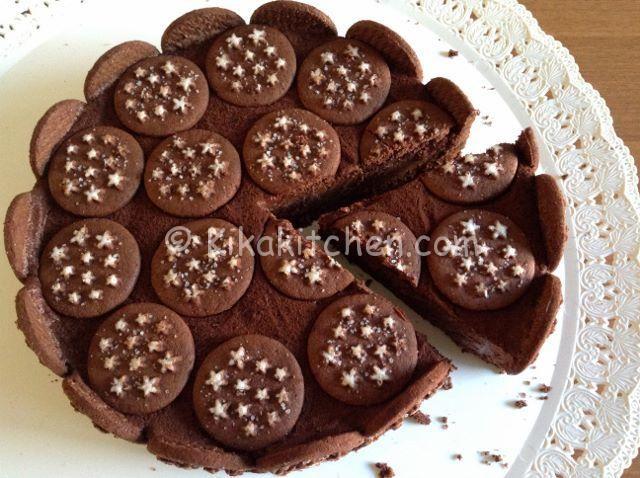 2e4bedf8d411 Torta Pan di stelle e nutella