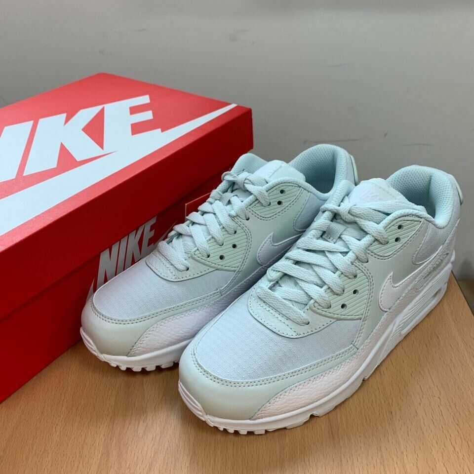 Details about Nike Wmns Air Max 90 Ghost Aqua White Women Running Shoes Sneakers 325213 419