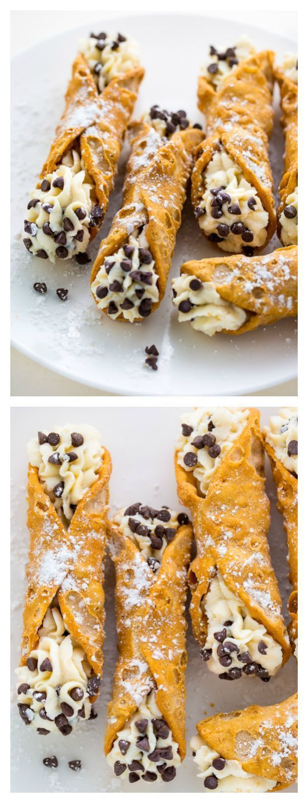 Easy 5-Ingredient Cannolis Recipe - Baker by Nature