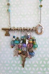 New 20Pc lot Keys Mixed Lot great for steampunk Jewelry making Mixed conditions20pc
