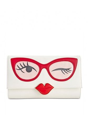 Photo of Kate Spade New York Rose Colored Glasses Frames Clutch