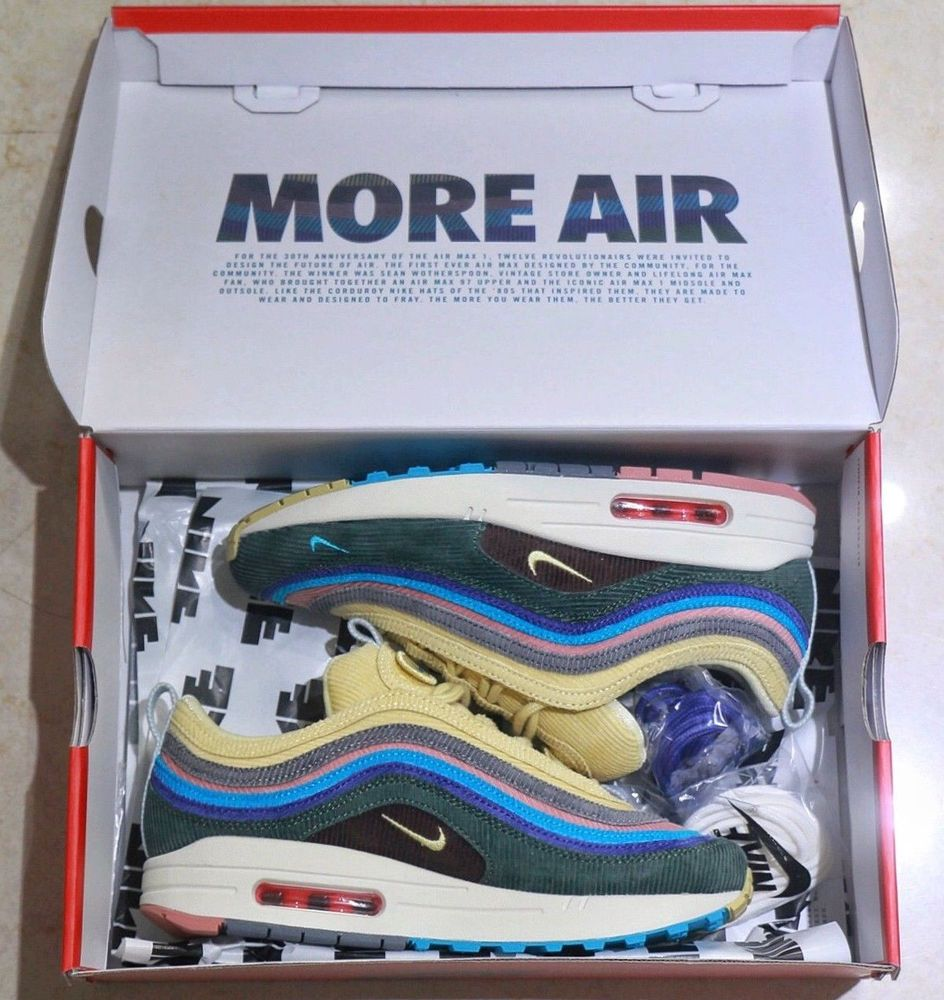 Nike Air Max 197 VF 'Sean Wotherspoon' Size 9.5 UK EU 44.5