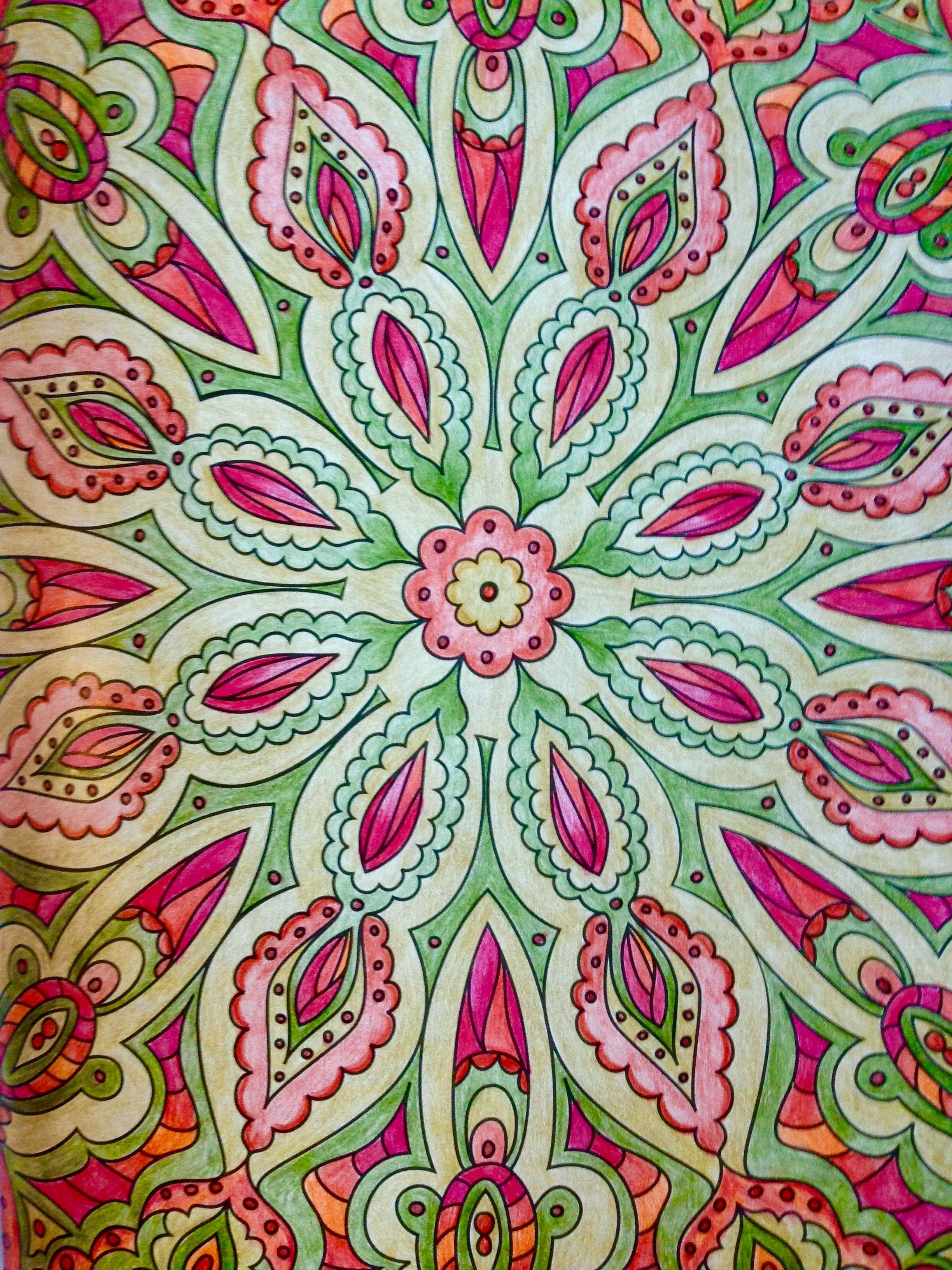 Coloring Book Vintage Patterns