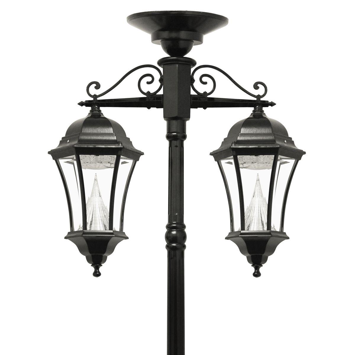 Victorian Solar Lamp Series Double Downward Hanging Lamp Post Gs 94c D Solarleuchten Lampen Aussenleuchten