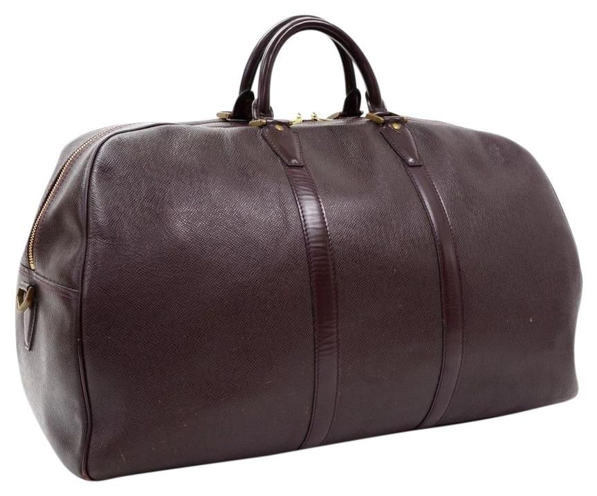 1af7b8d4af Save big on the Louis Vuitton Kendall Gm Burgundy Travel Bag! This travel  bag is a top 10 member favorite on Tradesy.