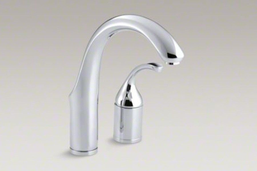Kohler K 10443 Cp Forte 2 Hole Bar Sink Faucet With Lever Handle In