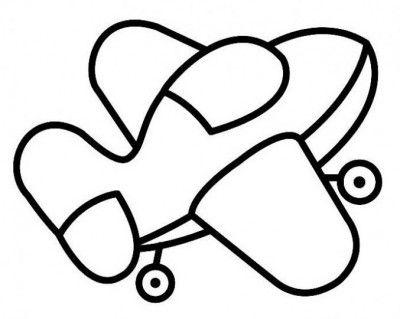 Dibujos De Aviones Para Imprimir 5 Moldes Dibujos Avion