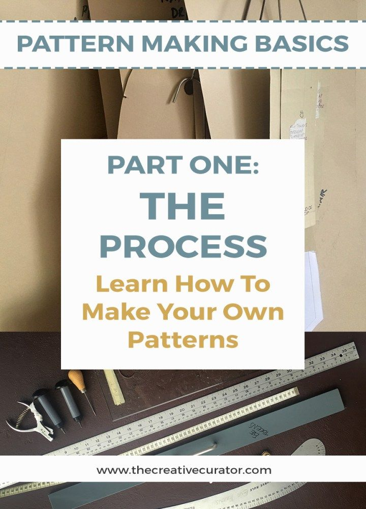 Learn How To Make Your Own Sewing Patterns | Learning, Creative and ...