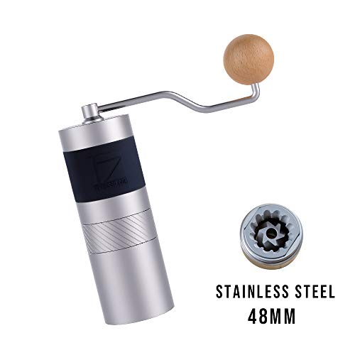 1zpresso Manual Coffee Grinder Jx Series Light Gray In 2020 Manual Coffee Grinder Coffee Neutral