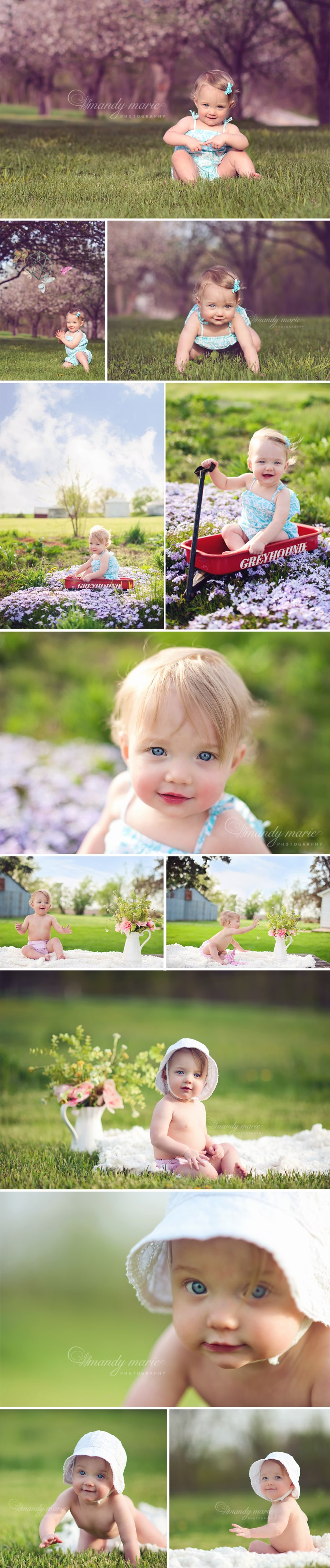 one year old country girl {Mandy Marie Photography}