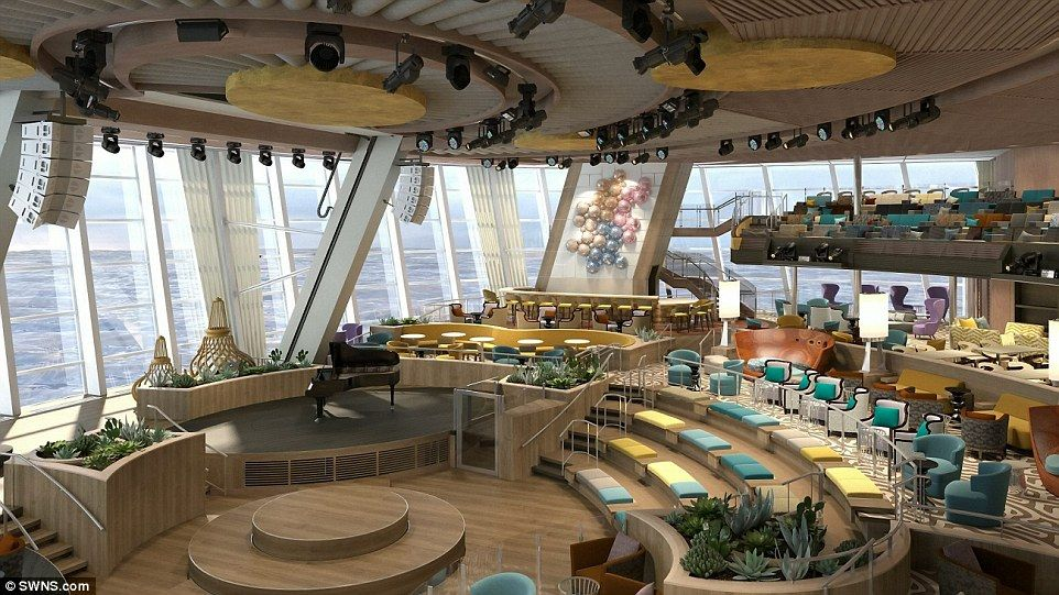 Quantum Of The Seas Dining Room Cruise For Honeymoon For Family For Pensioners Pinterest