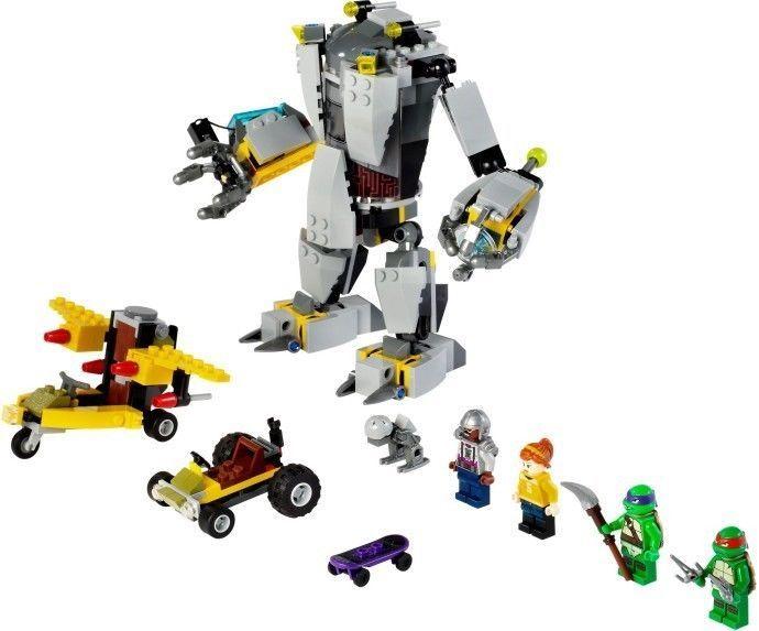 Lego Set 79105 Tmnt Baxter Robot Rampage Exclusive Set 397pc 5