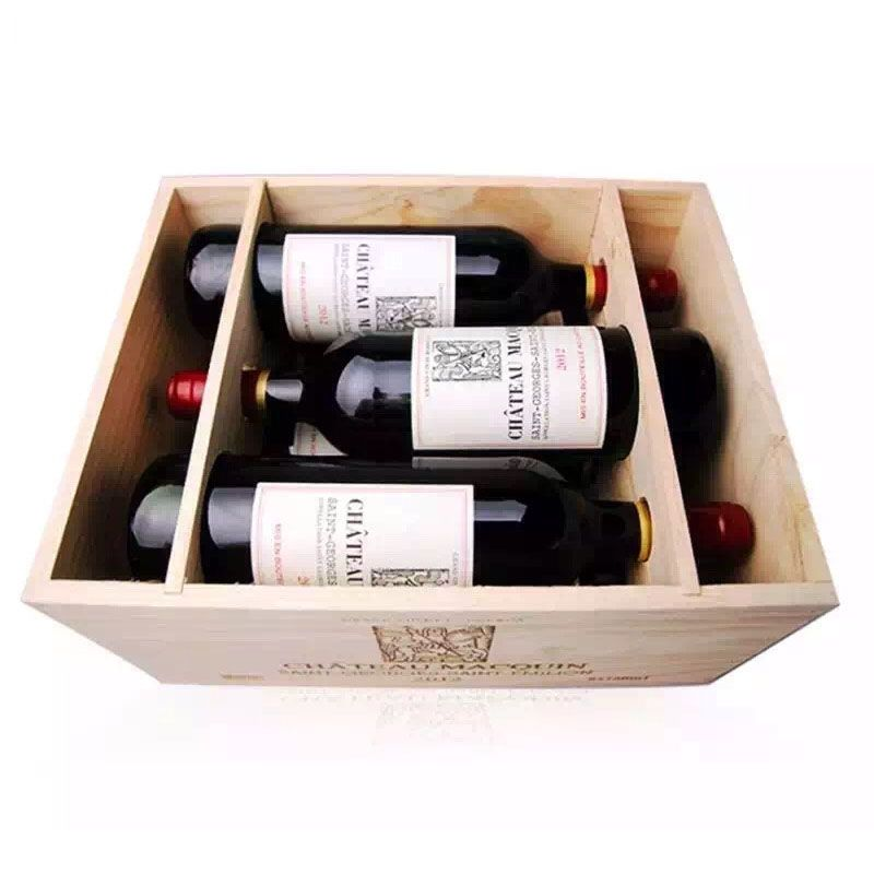 12 Bottles Pine Wooden Wine Boxes Yixing4150 Wooden Wine Boxes Wooden Wine Crates Wine Box